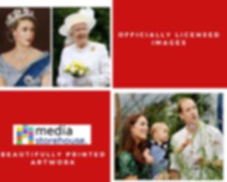 Wall art - modern royal family cover