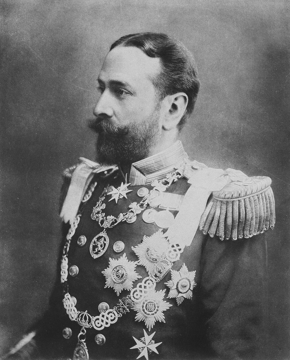 Prince Louis of Battenberg, Admiral of the British fleet, Royal Navy, he was Prince Philip's maternal grandfather