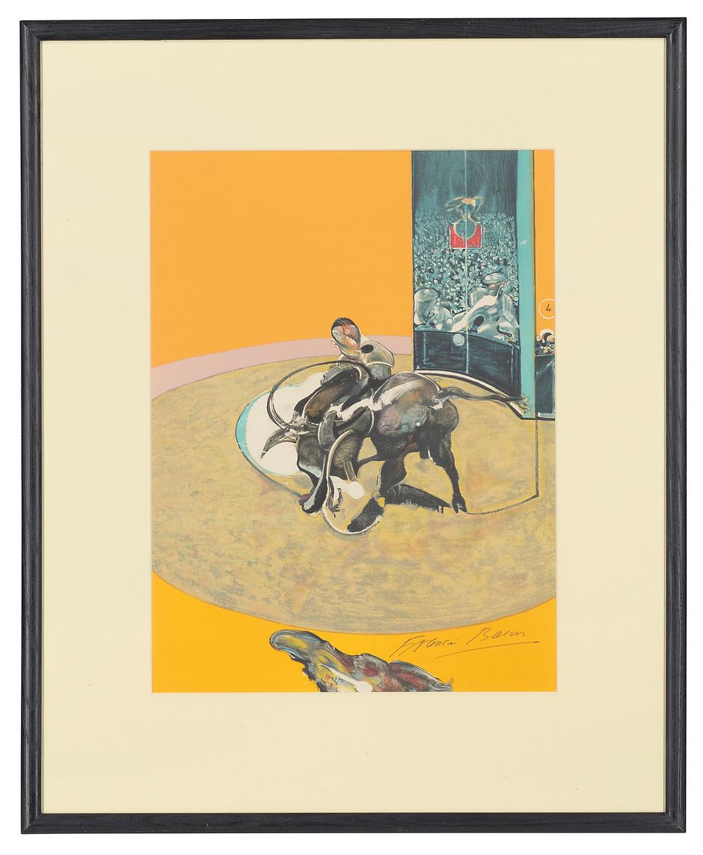 FRANCIS BACON (1909-1992)   One print, from: Miroir de la Tauromachie. royal history . sale at christies.com