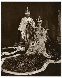 George V & Queen Mary coronation,