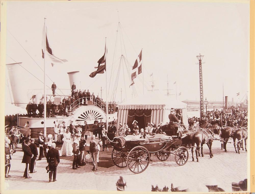 Entrance at harbour, Copenhagen, 1898. Royal Collection Trust/© Her Majesty Queen Elizabeth II 2019. Historic photo taken by Queen Alexandra