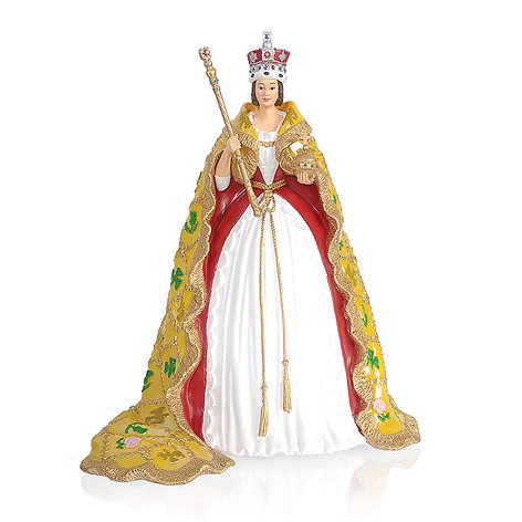 The 'Royal Coronation Of Queen Victoria' Figurine By The Bradford Exchange