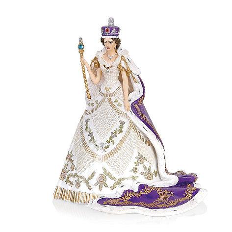 The Coronation Of Queen Elizabeth II Figurine by The Bradford Exchange
