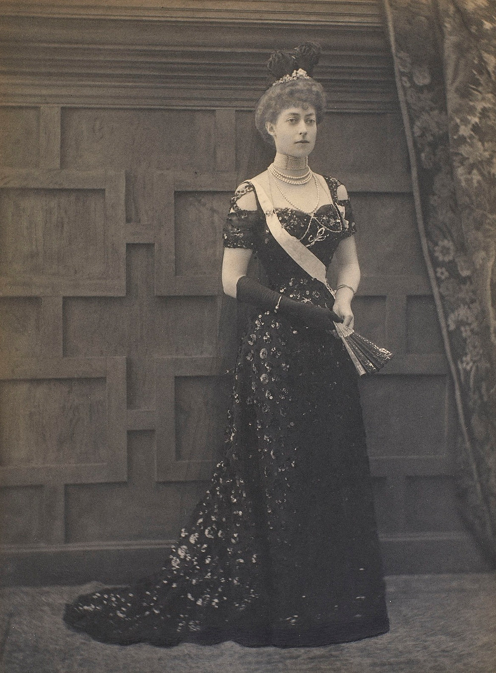 Portrait of Princess Victoria of the United Kingdom, and daughter of King Edward VII & Queen Alexandra.