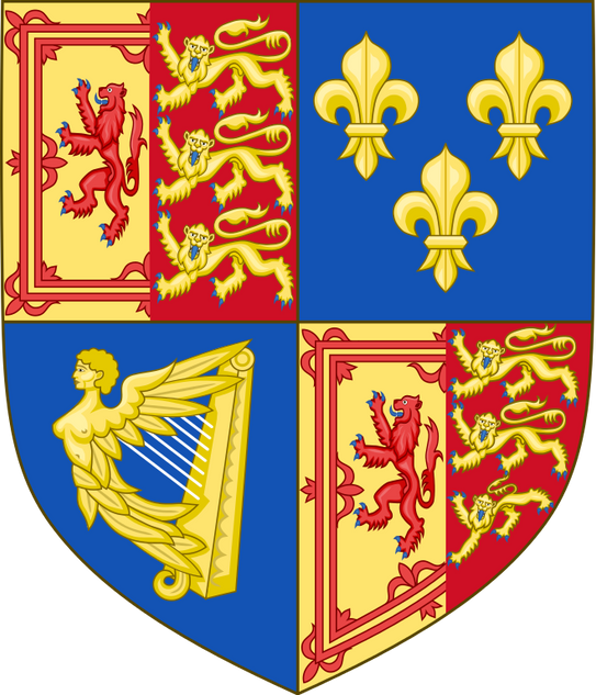 Queen Anne; Coat of Arms of Scotland