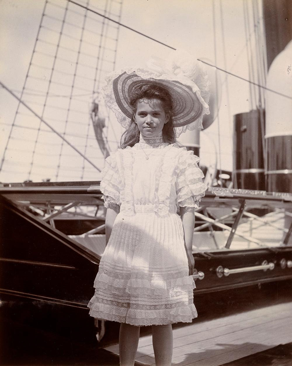 Grand Duchess Marie Nicholaievna (1899-1918), Jun 1908. Royal Collection Trust/© Her Majesty Queen Elizabeth II 2019