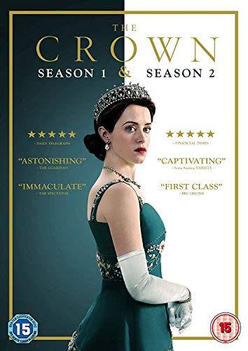 The Crown season 1 & 2 DVD boxset