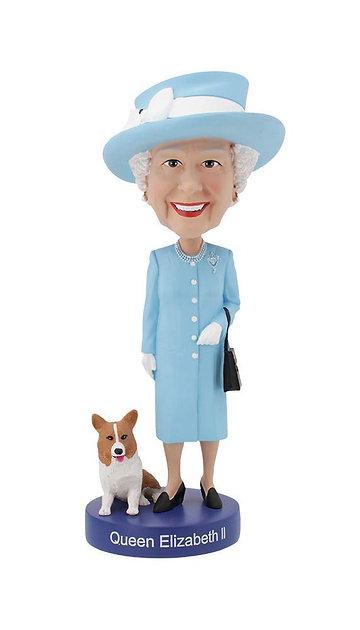 The Queen Bobblehead figure