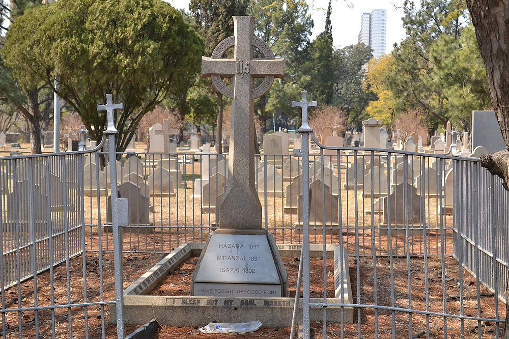 Prince Christian Victor of Schleswig Holstein Church Street Cemetery in Pretoria, photo by By PHParsons [CC BY-SA 3.0  (https://creativecommons.org/licenses/by-sa/3.0)], from Wikimedia Commons