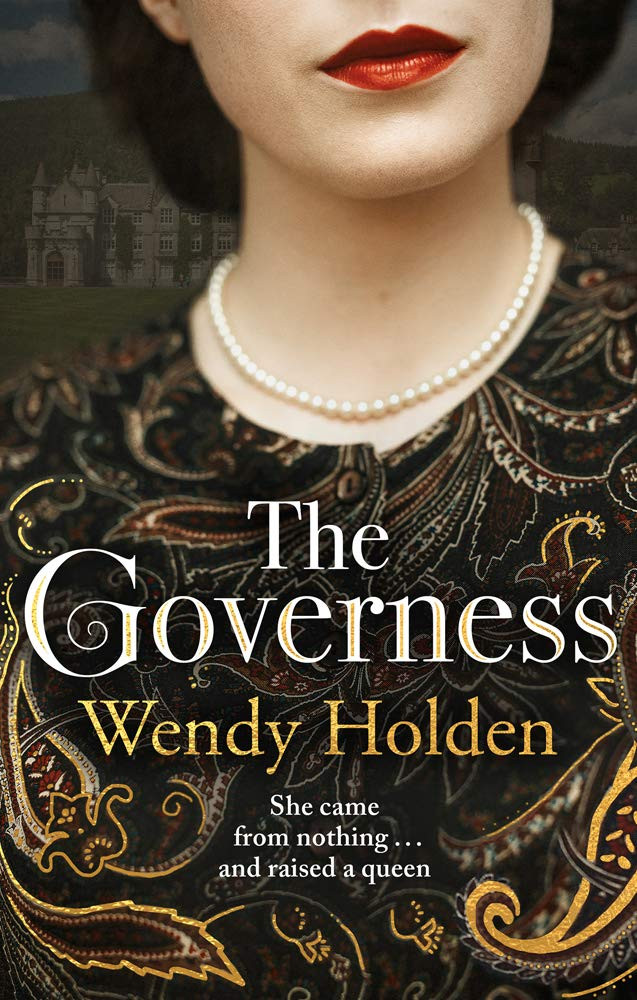 The Governess by Wendy Holden book cover