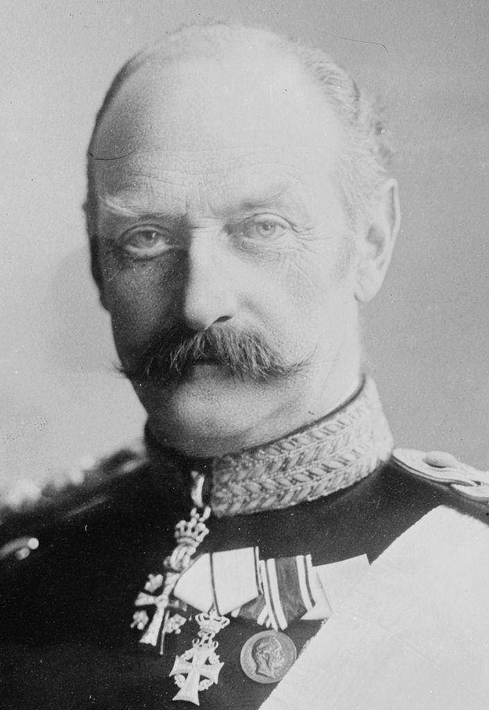Frederick VIII in 1909, he was king of Denmark