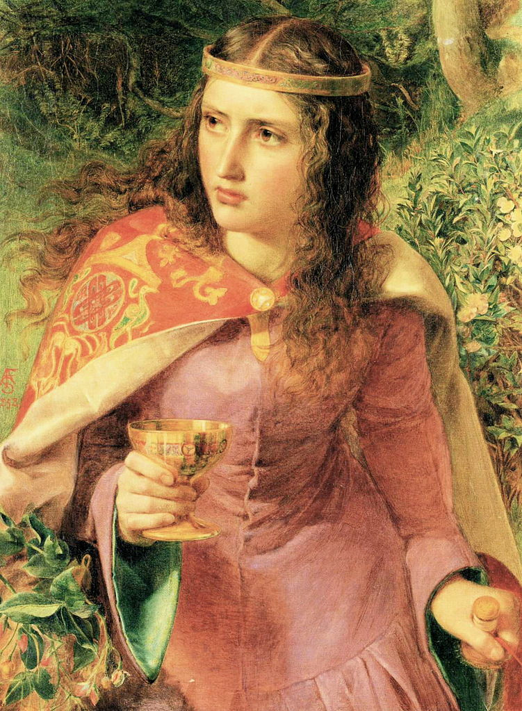 Queen Eleanor by Frederick Sandys, 1858, National Museum Cardiff