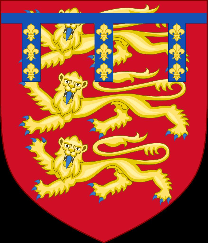 Royal Arms of Edmund Crouchback