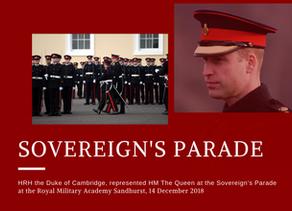 The Sovereign's Parade at RMA Sandhurst