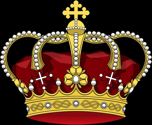 Royal crown, logo website art