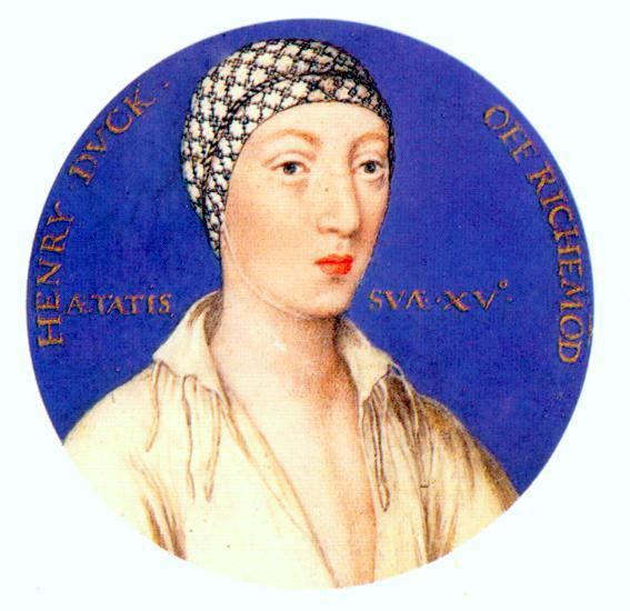 Henry FitzRoy, Duke of Richmond, illegitimate son of Henry VII of England