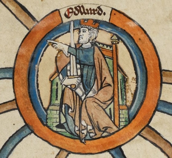 Historic Edward the Elder, portrait