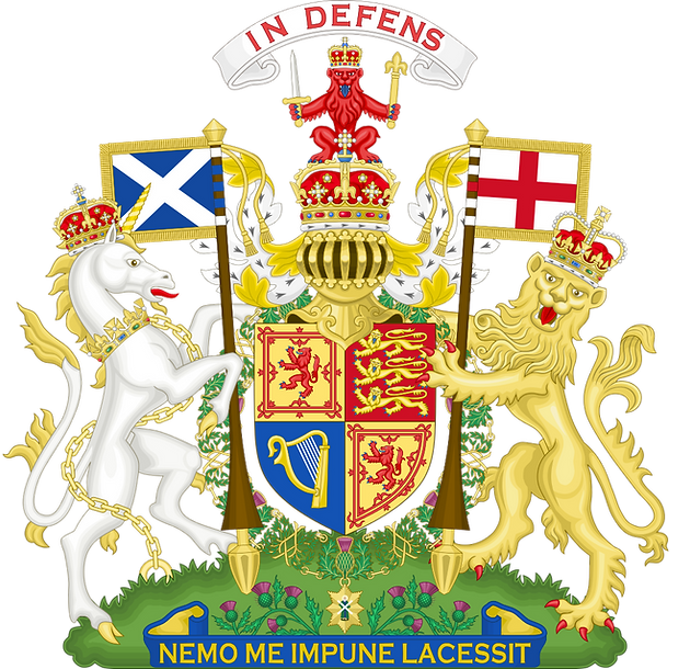 Elizabeth II coat of arms as used in Scotland