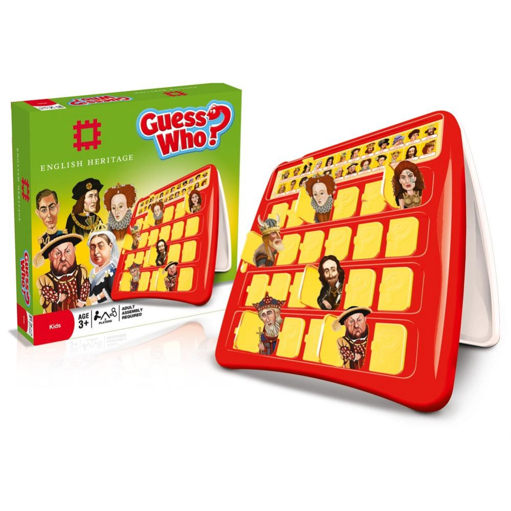 English Heritage - Guess Who board game.