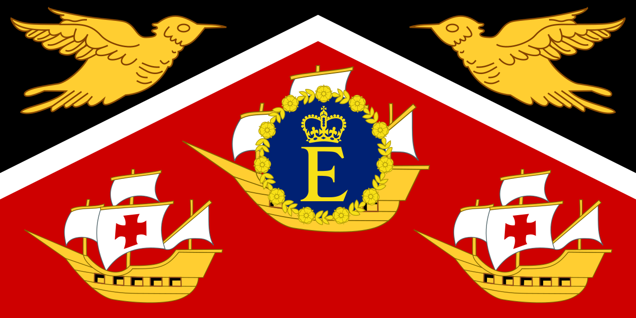 Royal standard of Trinidad & Tobago (1962-76)