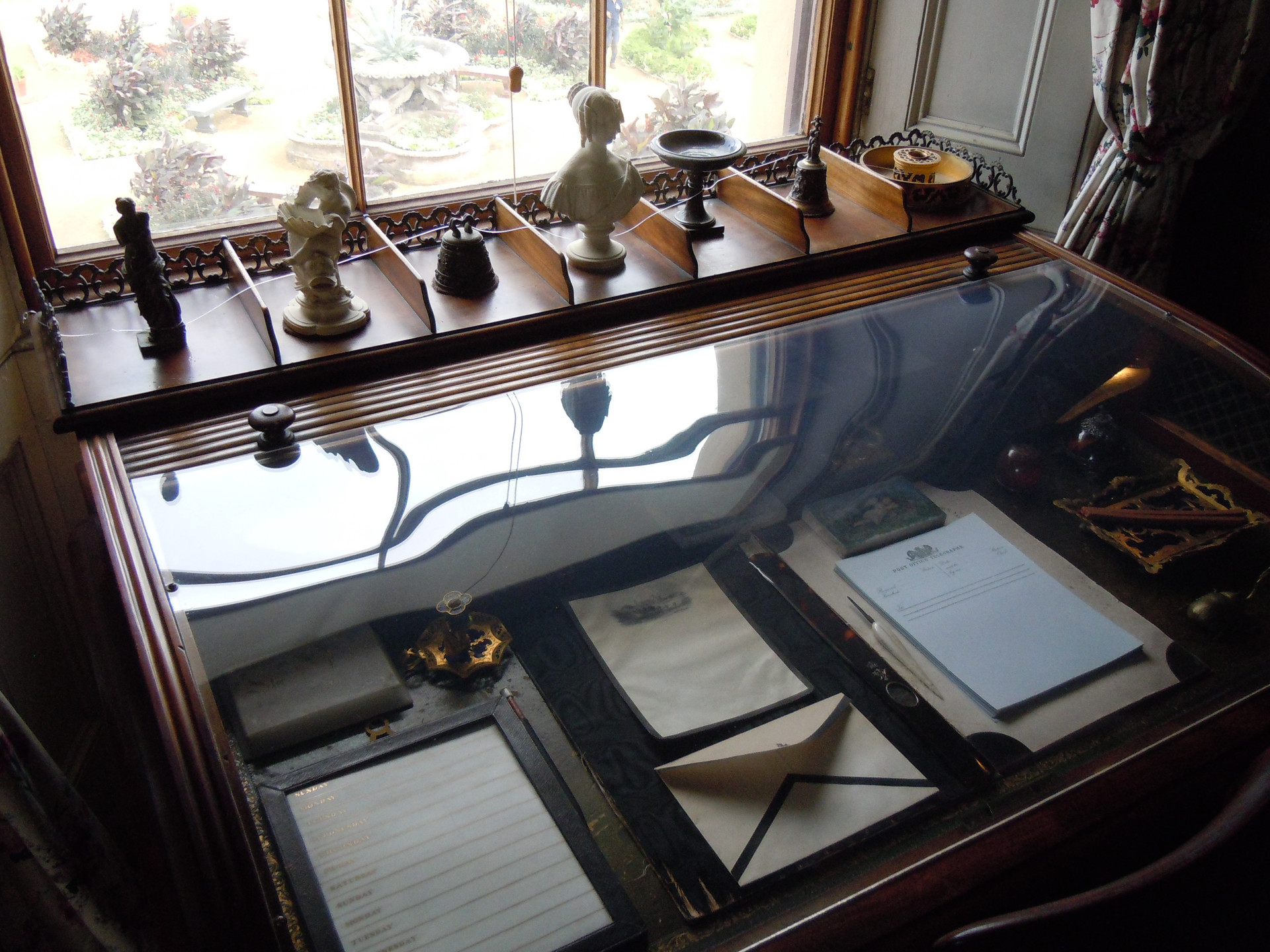 Queen Victoria's writing desk at Osborne House