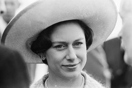 Princess Margaret, Countess of Snowdon, sister of Queen Elizbaeth II