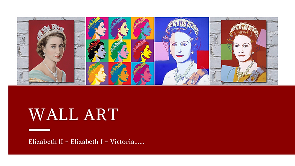Wall Art - Royal images page cover