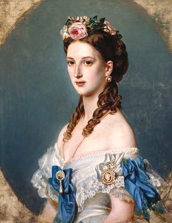 RCIN 403410; Queen Alexandra (1844-1925), when Princess of Wales Inscribed 1864, WILLIAM CORDEN THE YOUNGER (1819-1900); Royal Collection Trust/© Her Majesty Queen Elizabeth II 2018