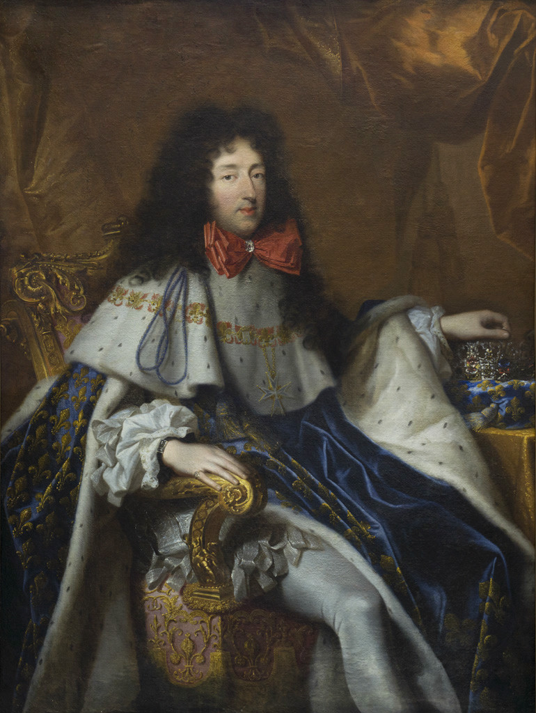 Philippe of France, Duke of Orléans and brother of Louis XIV, bearing the cross of the Order of the Holy Spirit