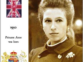 Happy 70th Birthday The Princess Royal