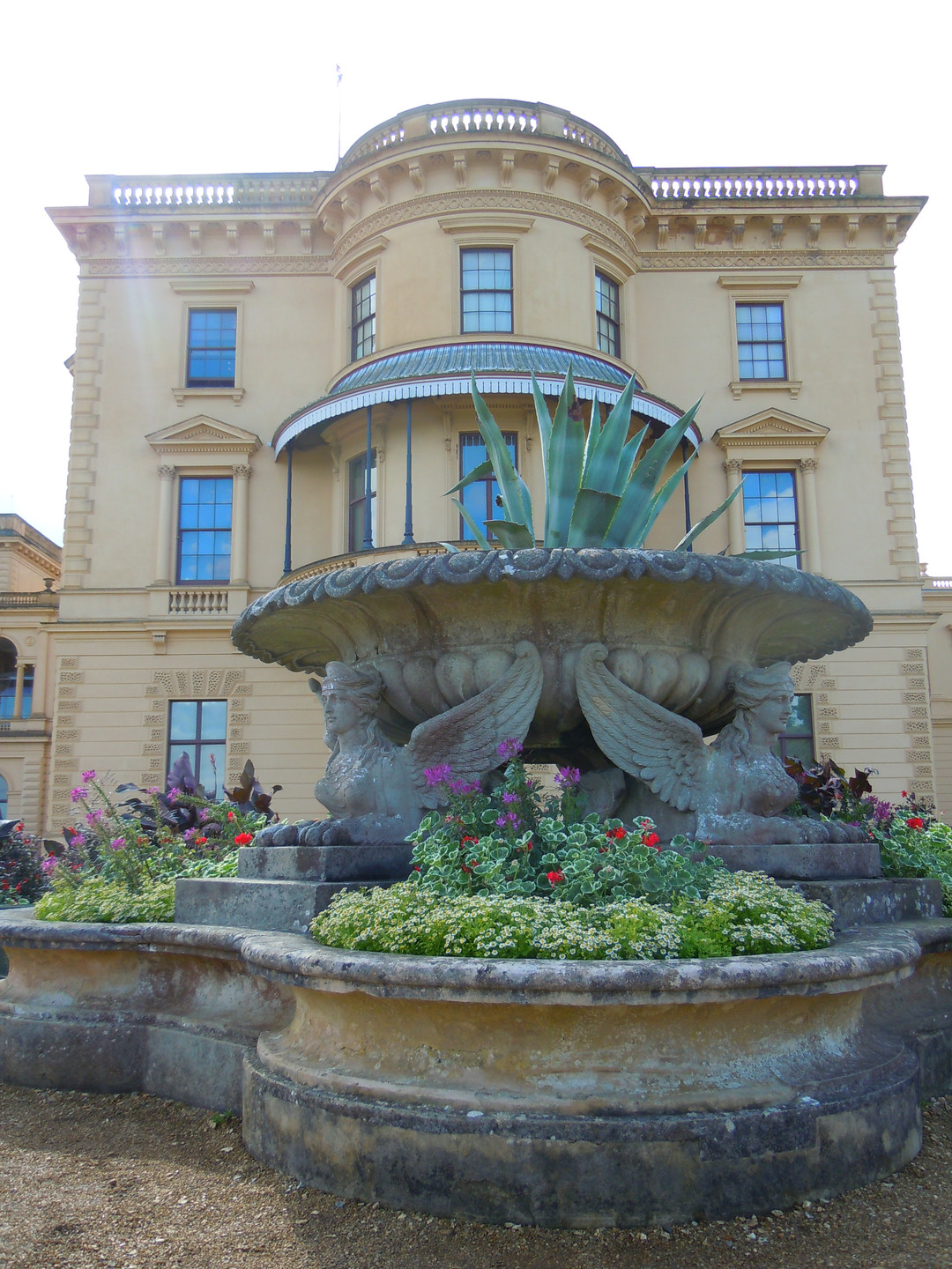 Osborne house, former home of Queen Victoria & Prince Albert
