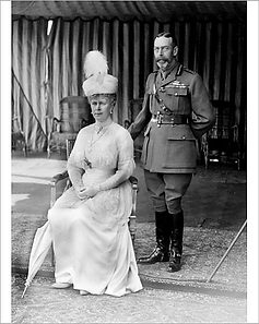 George V & Queen Mary
