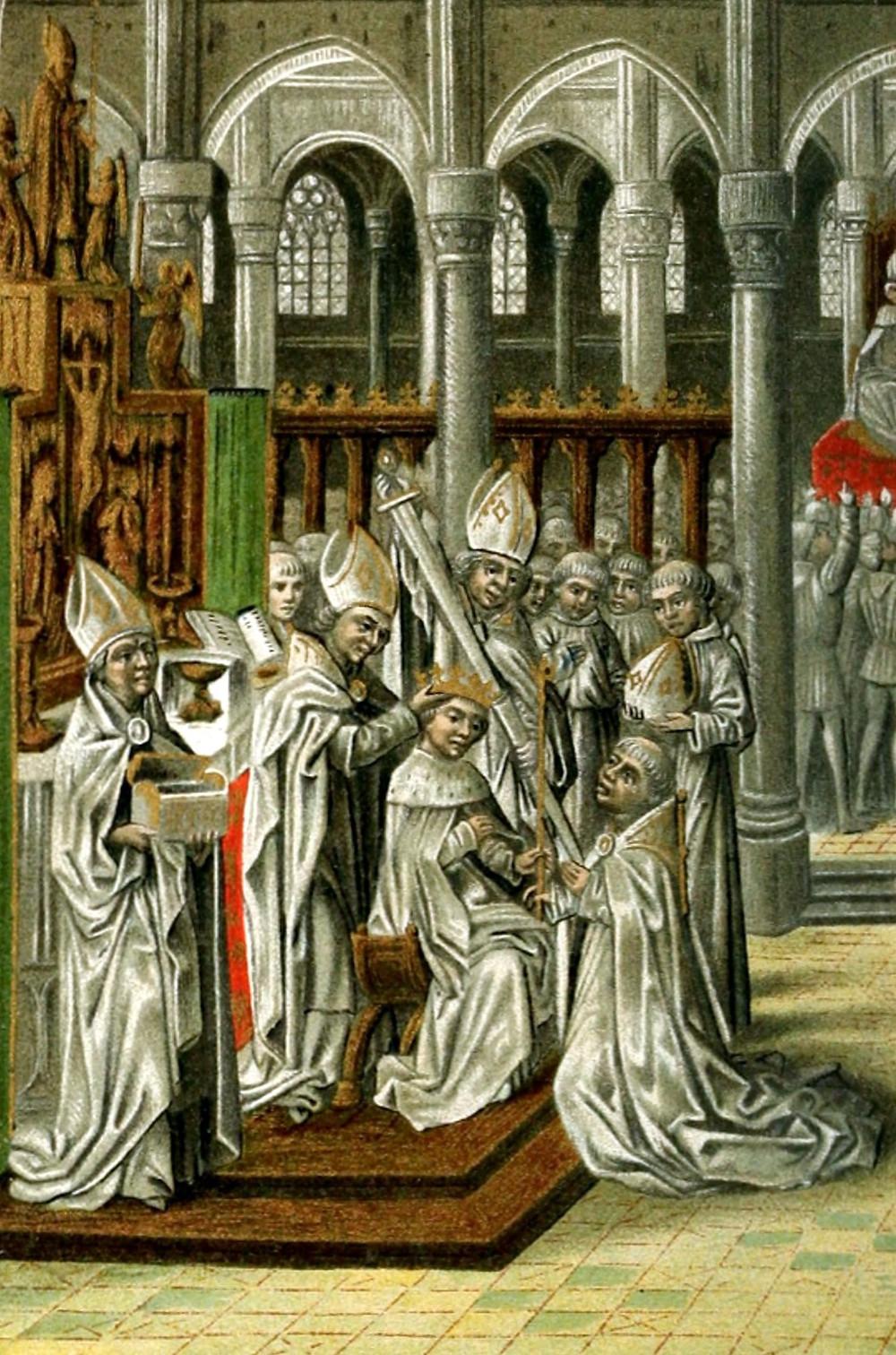 Henry IV coronation, 13 October 1399