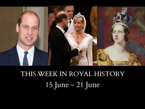 This Week in Royal History