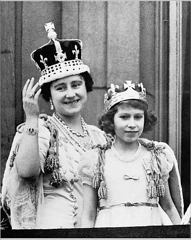 The Queen & Queen mother