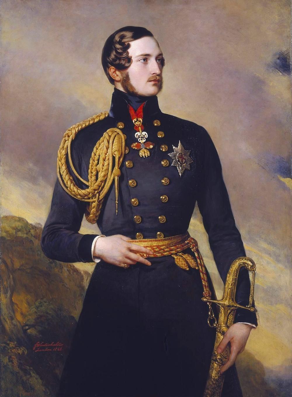 Prince Albert, by Franz Xaver Winterhalter [Public domain], via Wikimedia Commons
