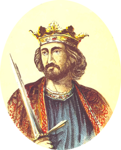 King Edward I of England. also known as longshanks. Medieval monarch.
