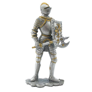 Knight with battle axe model