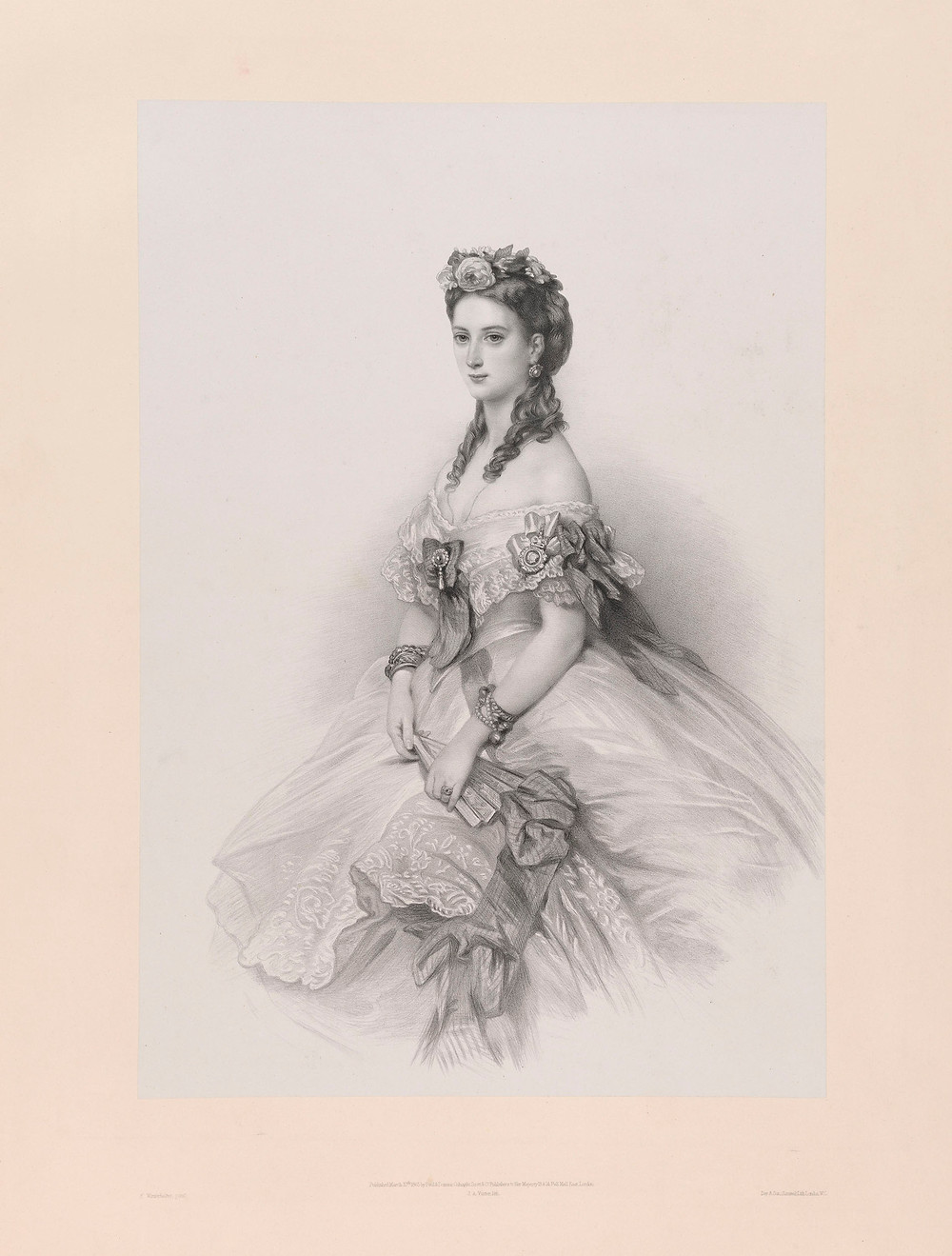 Queen Alexandra when Princess of Wales, 1865 Royal Collection Trust/© Her Majesty Queen Elizabeth II 2018