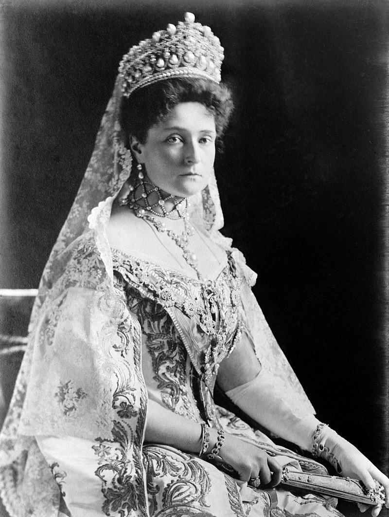 Princess Alix of Hesse and by Rhine, later Alexandra Feodorovna