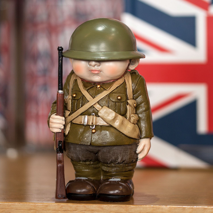 WWI Tommy mini me model by English Heritage Shop