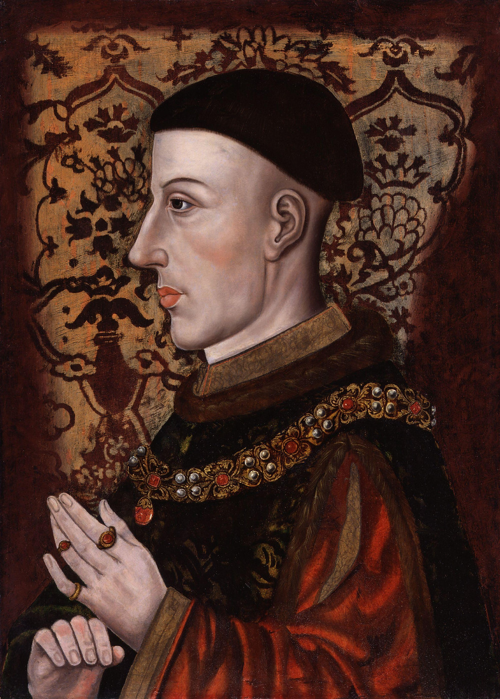 Henry V National Portrait Gallery [Public domain or Public domain], via Wikimedia Commons