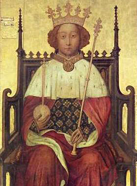 King Richard II of England, Plantagenet king adopted the title Royal Majesty