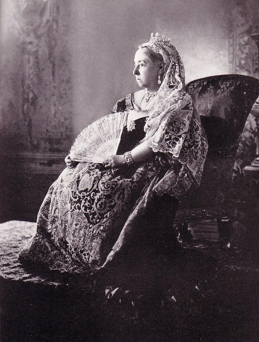Queen Victoria photographed for her Diamond jubilee 1897