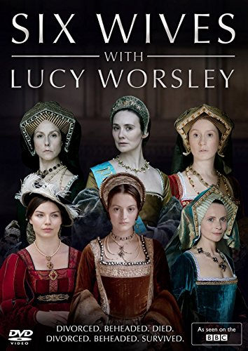 Six wives with Lucy Worsley DVD