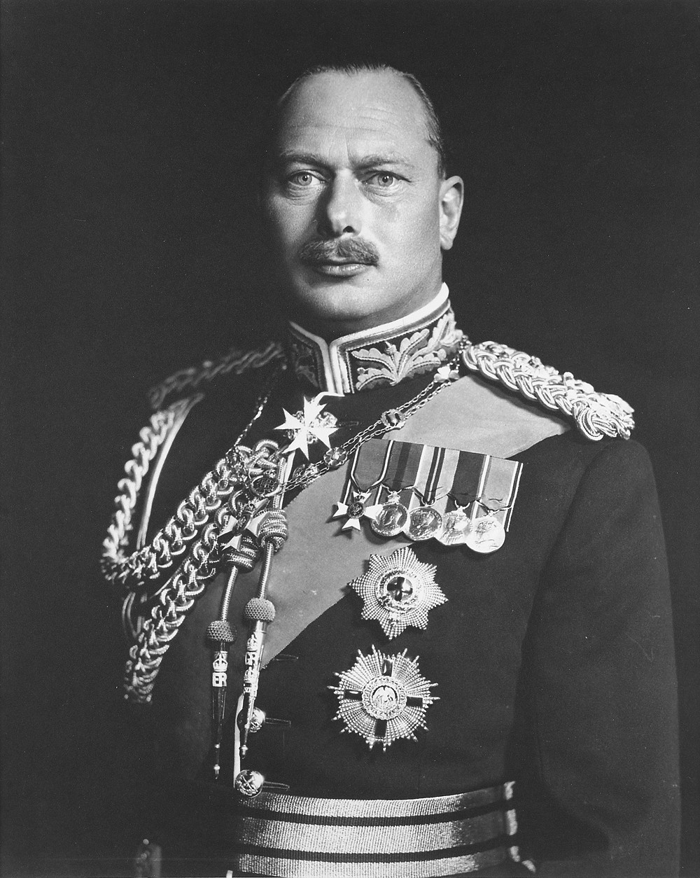Prince Henry, Duke of Gloucester, KG, KT, KP, GCB, GCMG, GCVO, PC (Henry William Frederick Albert; 31 March 1900 – 10 June 1974) was the third son and fourth child of King George V and Queen Mary. He served as Governor-General of Australia from 1945 to 1947, the only member of the British royal family to hold the post. portrait taken in about 1945. Royal family. British monarchy