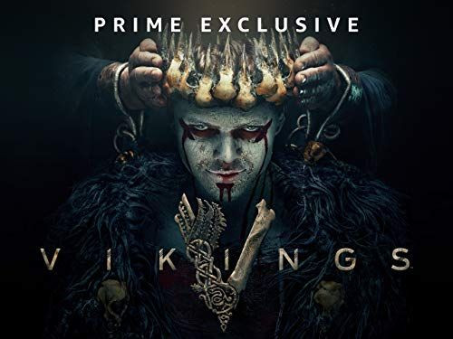 link banner to Amazon Prime viseo, Vikings Series
