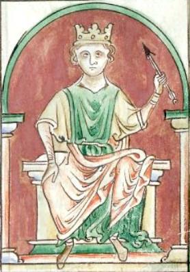 William II, king of England, medieval art