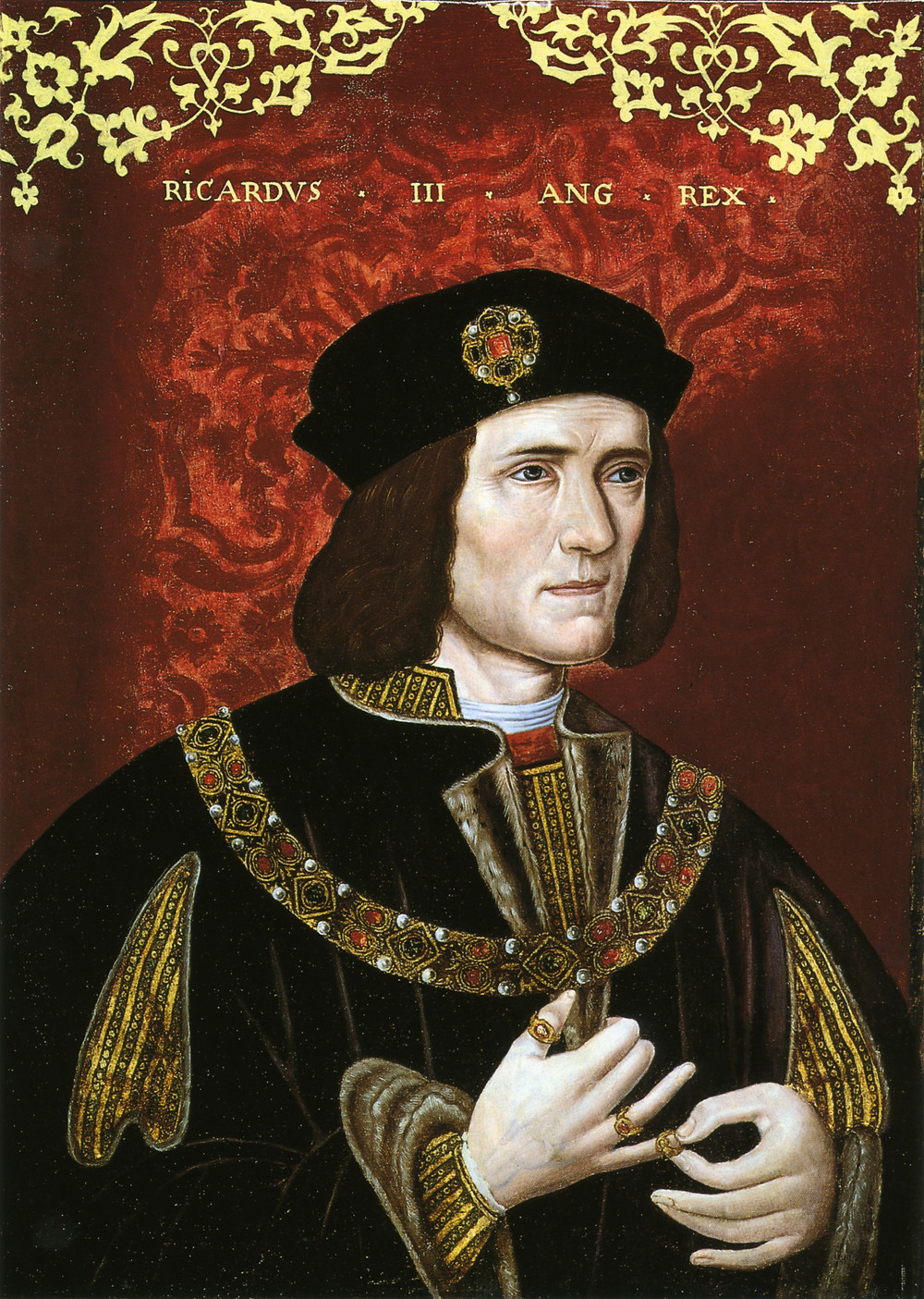 King Richard III, the last Plantagenet king of England, Late 16th-century portrait