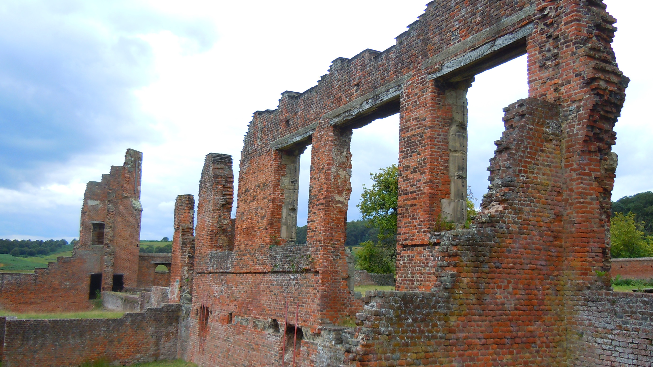 The remains of Bradgate House, home of the Grey family, Lady Jane Grey, Queen of England for nine days was born here in 1537.